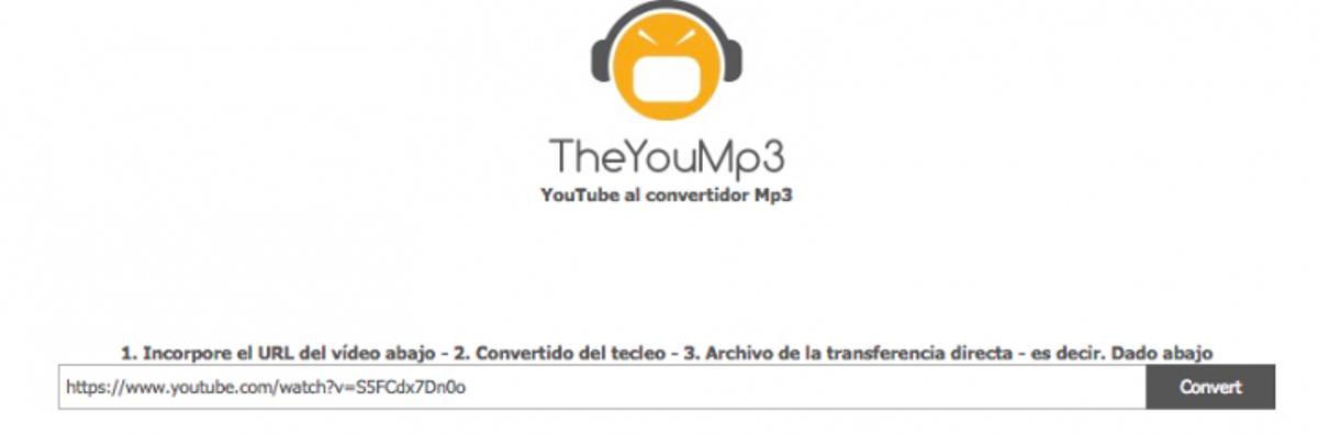 convertidor mp3 youtube rapido